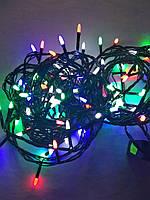 Гирлянда светодиодная Иголки 100LED 9м разноцветная, фото 1