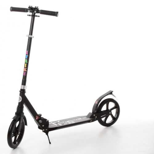 Самокат для дорослих Scooter Urban iTrike SR 2-052-B, чорний