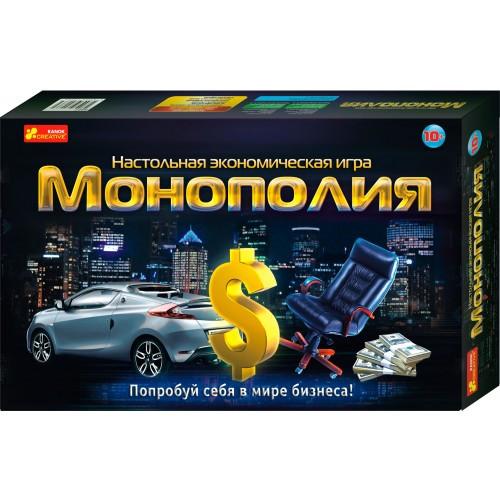 Економічна гра Монополія  Ранок 12119001Р