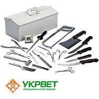 Комплект патологоанатомических инструментов
