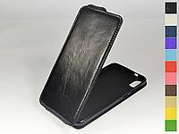 Откидной чехол из натуральной кожи для HTC Desire 825