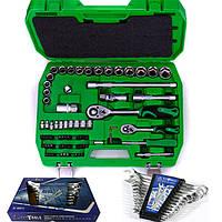 Набор инструментов 72 ед.ET-6072SP+набор ключей 12 ед.BT40012