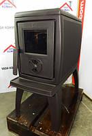 Чугунная печь-камин на ножках Plamen Trenk 11 кВт, фото 1