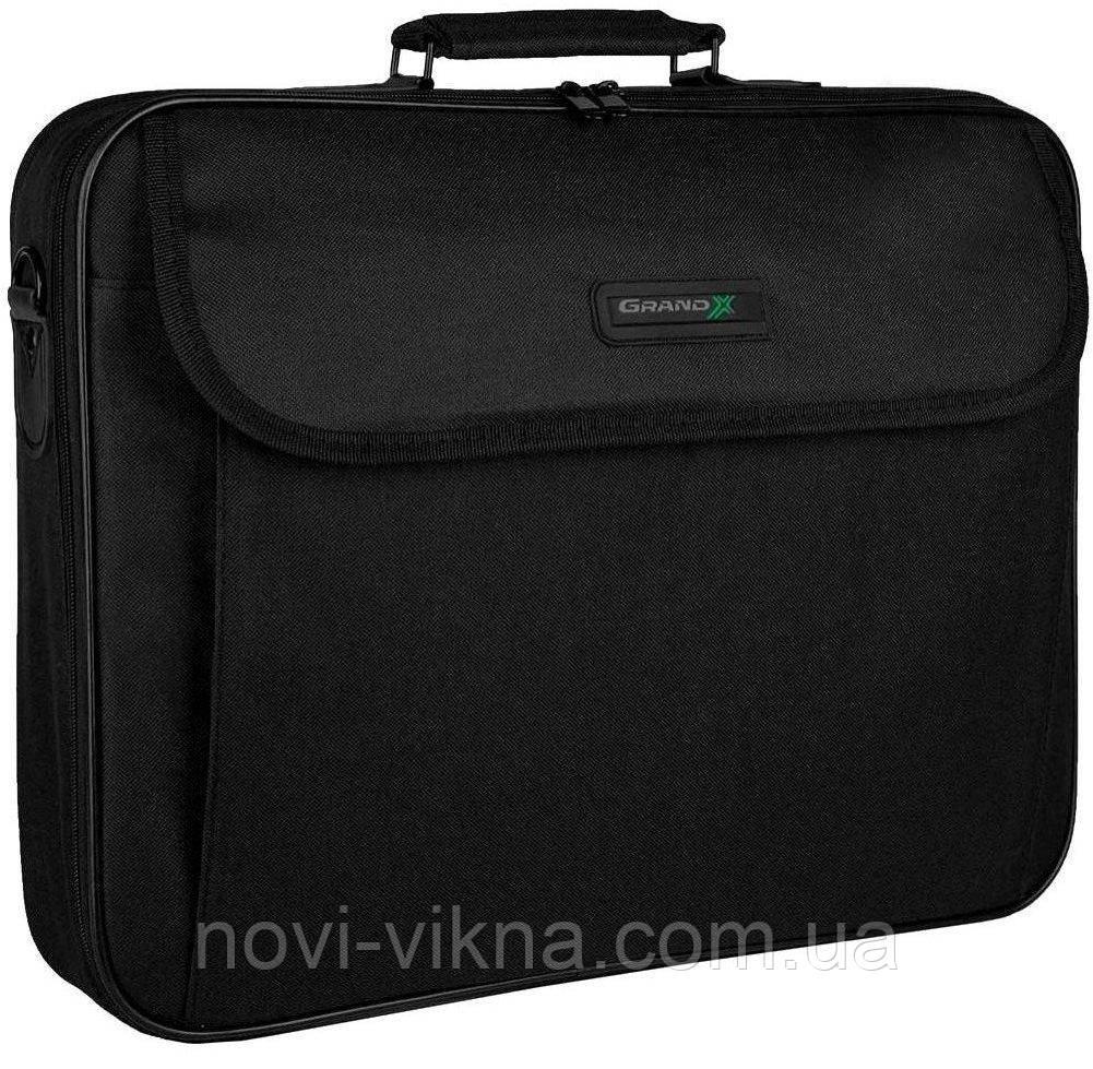 Сумка для ноутбука 15.6 Grand-X HB-156, черная.