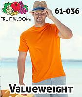 Мужские футболки Fruit of the Loom Valueweight 61-036