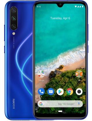 """Смартфон Xiaomi Mi A3 4/64Gb Blue Global, 48+8+2/32Мп, 8 ядер, 2sim, экран 6.08"""" AMOLED, Snapdragon 665, 4G"""