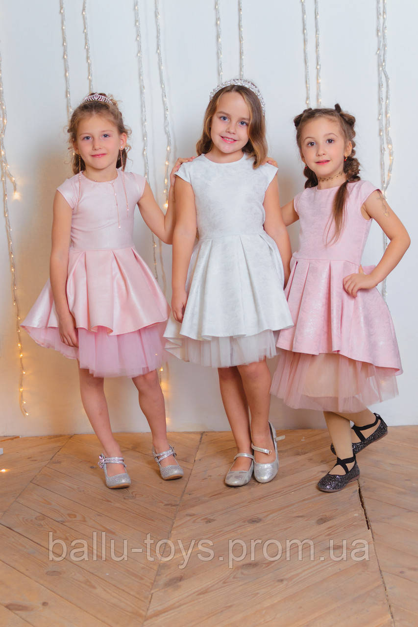 Нарядное платье для девочек София (4-8 лет)