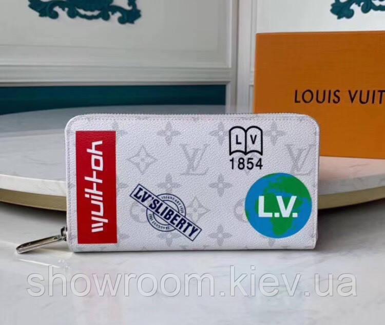 Женский кошелек в стиле Louis Vuitton (67824) white
