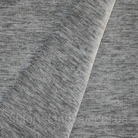 Декор шенилл комбин серый