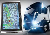 GPS навигатор Pioneer 7 дюймов для Грузового транспорта TIR с картами Европы для Дальнобойщиков 256mb 8G WINCE