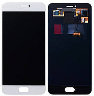 Дисплей Meizu Pro 6 / Pro 6S SuperAmoled complete White