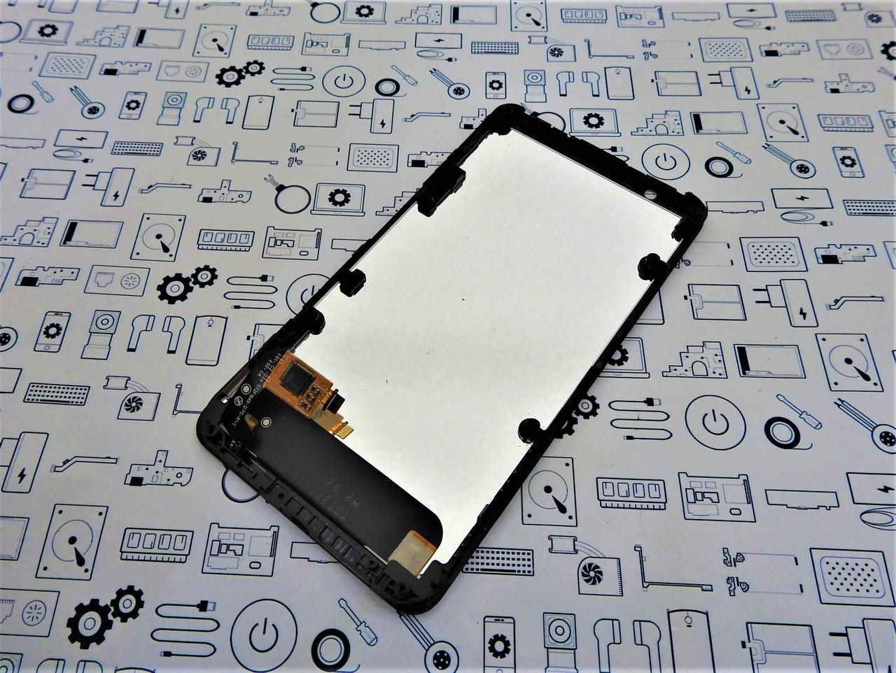 Дисплей Sony E4 E2115 модуль черный Сервисный оригинал с разборки