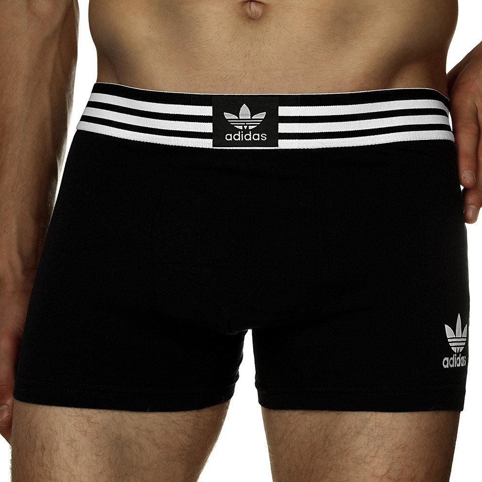 Мужские трусы боксеры транки шорты Adidas Адидас хлопок 5 цветов