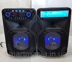 Активная акустика ZPX AUDIO 8899 X-BASS (250W/USB/BT/FM) комплект