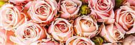 """Алмазная вышивка. Набор """"Панно из розовых роз"""" 152*50 см, полная выкладка, 31 цвет"""