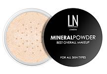 Рассыпчатая пудра для лица LN Professional Mineral Powder №01