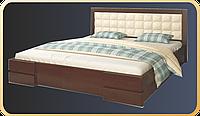 Кровать из массива дуба Комфорт-8. Кровати из дерева. Кровати от производителя.