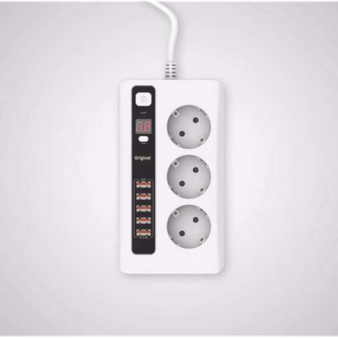Сетевой фильтр Remax Power Socket bkl-04, фото 2