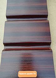 Софіт карнизна підшивка Asko Neo колір червоне дерево Твк