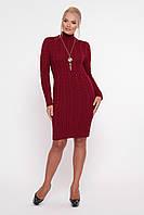 Платье Косы бордо, фото 1