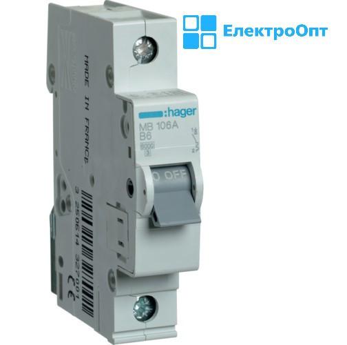 Автоматичний вимикач MCN163 автомат hager ( хагер )