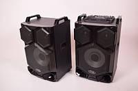 Активная стерео система колонки Wimpex WX-7313-12, 12 дюймов, 2х200W, Bluetooth, микрофон, пульт