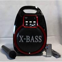 Портативная колонка с радиомикрофоном Golon RX-820BT (USB/Bluetooth/FM/аккумулятор)