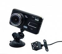Видеорегистратор DVR H528 4 Full HD с выносной камерой заднего вида