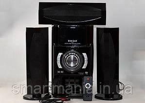 Акустична система 3.1 E-53 (USB/Bluetooth/FM-радіо)