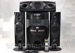 Акустична система комплект 3.1 Djack DJ-J3L100W (USB/FM-радіо/Bluetooth)