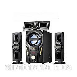 Акустична система комплект 3.1 Era Ear E-703A (USB/FM-радіо/Bluetooth) 60 Вт