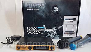 Радиомикрофоны вокальные для караоке SHURE UGX-88