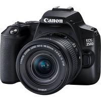Цифровая зеркальная фотокамера Canon EOS 250D Kit 18-55 IS STM Black