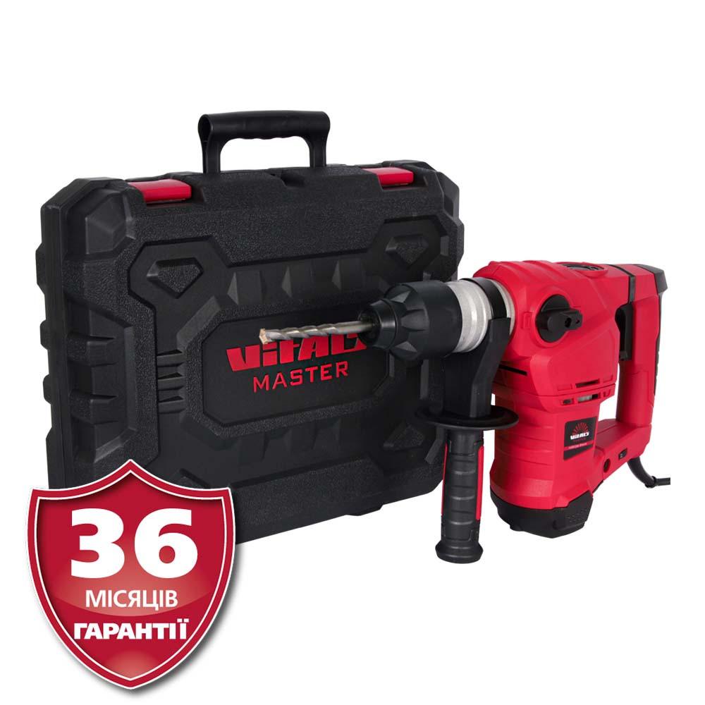 Перфоратор SDS-plus, 1,5 кВт, 5.5 Дж  Латвия Vitals Master Ra 3215DS