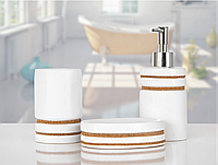 Комплект в ванную Irya - Sandra (3 предмета)