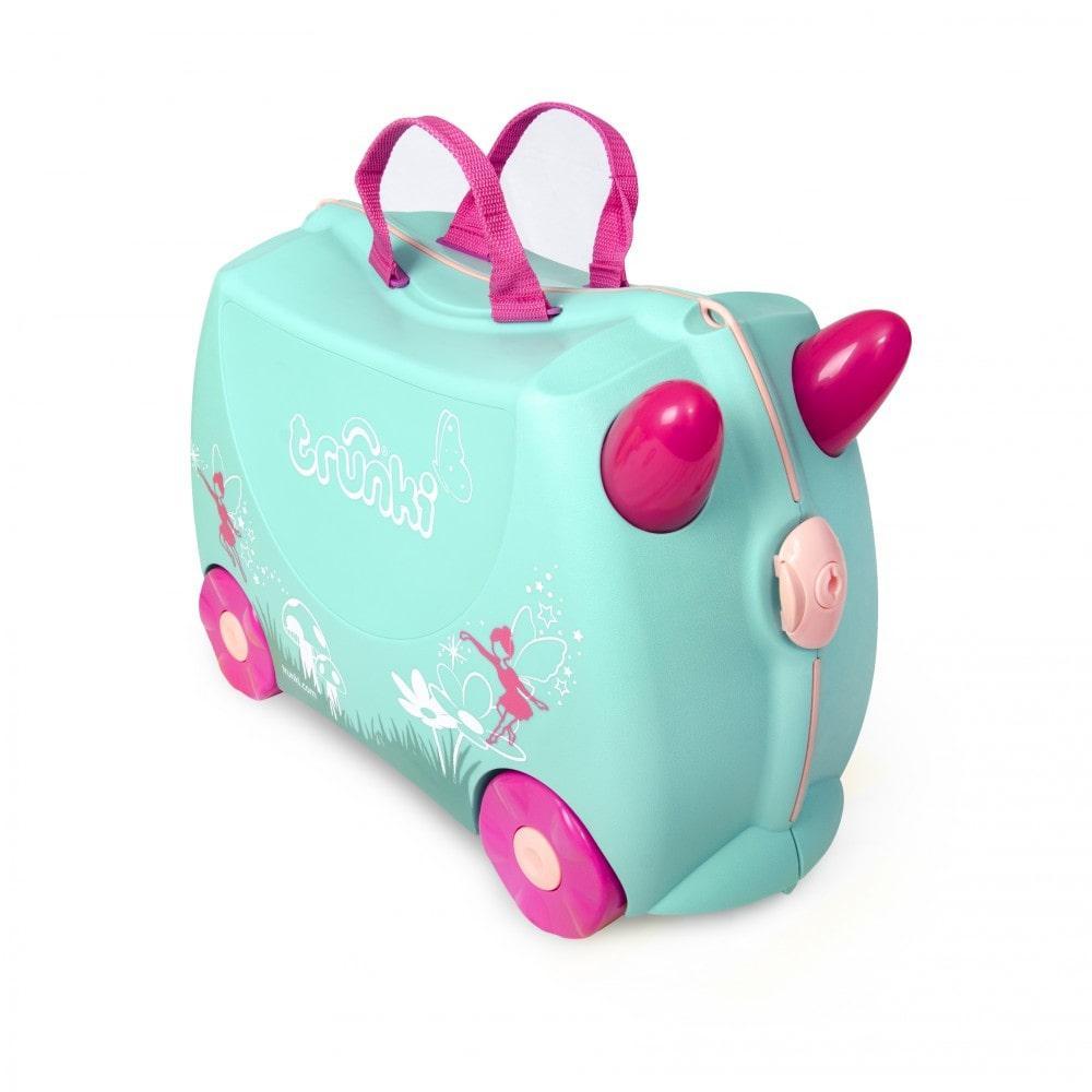 Детский чемодан на колесах trunki Flora Fairy