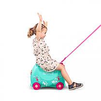 Детский чемодан на колесах trunki Flora Fairy, фото 2