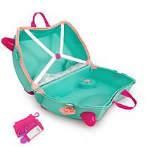 Детский чемодан на колесах trunki Flora Fairy, фото 3