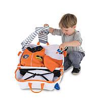 Trunki детский чемодан транки Skye the Spaceship, фото 3