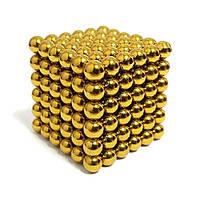 Неокуб NeoCube Золотий 6×6 (216 кульок по 7 мм), фото 1