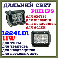 18W EP6 SP Светодиодные фары раб. света WL B1 18W Spot PHILIPS дальний свет