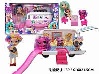 Игровой набор автобус с куклой и аксессуарами HC263721