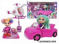 Игровой набор автомобиль с куклой и аксессуарами HC263718