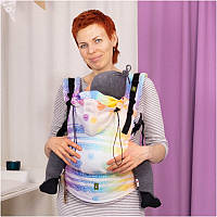 Слинг-рюкзак LENNYLAMB Rainbow Lace Reverse