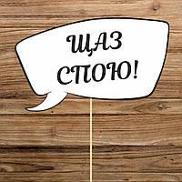 """Табличка """"Щаз спою!!!""""( арт. FSC-14)"""
