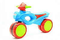 Мотоцикл-толокар «kinderway» Голубой 11-008, фото 1