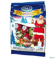 Новогодние конфеты Only Дед Мороз с фундуком 400 гр Австрия