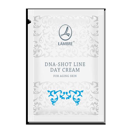 ТЕСТЕР Омолаживающий дневной крем с экстрактом черной икры DNA-Shot Line 2мл