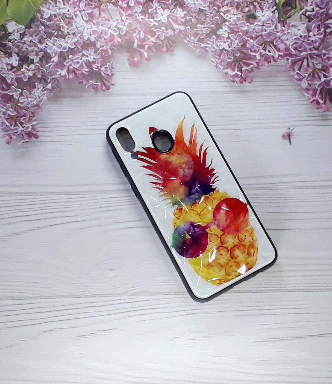Чохол накладка Prism на Samsung M20 (2019), Pineaple
