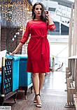 Стильное платье    (размеры 50-56) 0217-43, фото 3